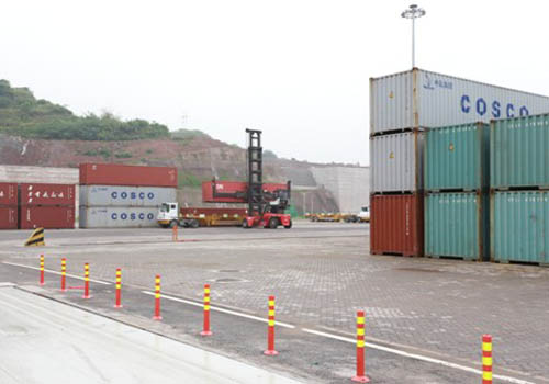 Guoyuan Port launches large-scale logistics transportation