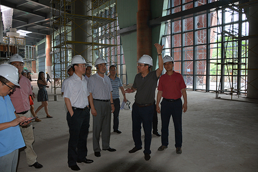 Officials visit Liangjiang New Area's Jihua project