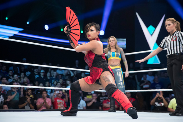 Chongqing woman WWE's first Chinese female wrestler