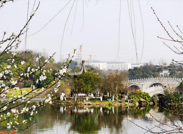 Head out to Liangjiang for memorable spring walks